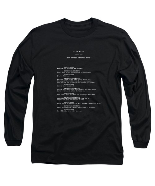 What Is Thy Bidding Long Sleeve T-Shirt