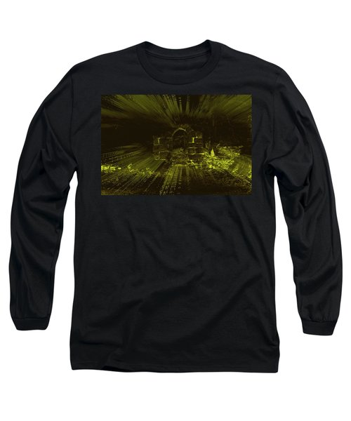 Long Sleeve T-Shirt featuring the photograph What Lies Beyond by Keith Elliott