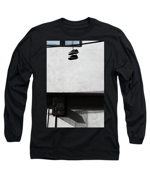 What That For Me  Long Sleeve T-Shirt by Empty Wall