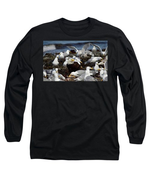 What The Tide Brings In The Birds Feed On Long Sleeve T-Shirt