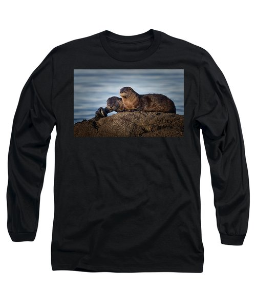 Long Sleeve T-Shirt featuring the photograph Whats For Dinner by Randy Hall