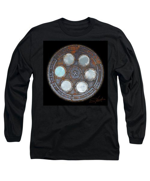 Wheel 2 Long Sleeve T-Shirt by Charles Stuart