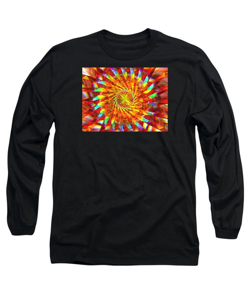 Wheel Of Light Long Sleeve T-Shirt by Andreas Thust