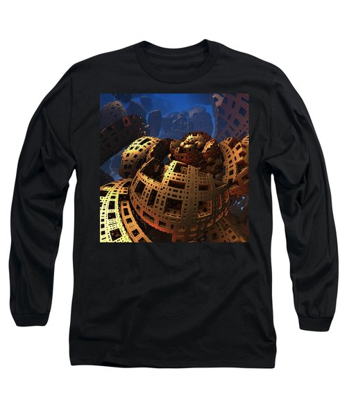 Long Sleeve T-Shirt featuring the digital art When Black Friday Comes by Lyle Hatch