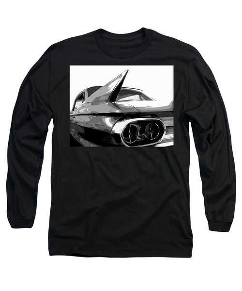 When Fins Were Fashionable Long Sleeve T-Shirt