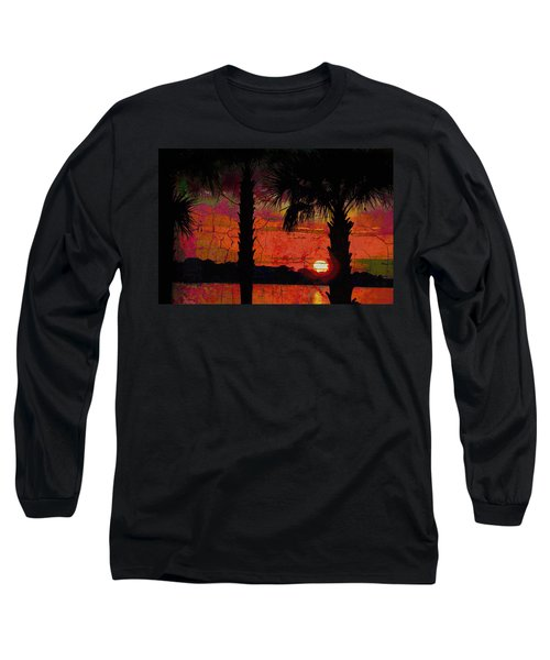 When The Day Ends Time Is Exhausted Long Sleeve T-Shirt