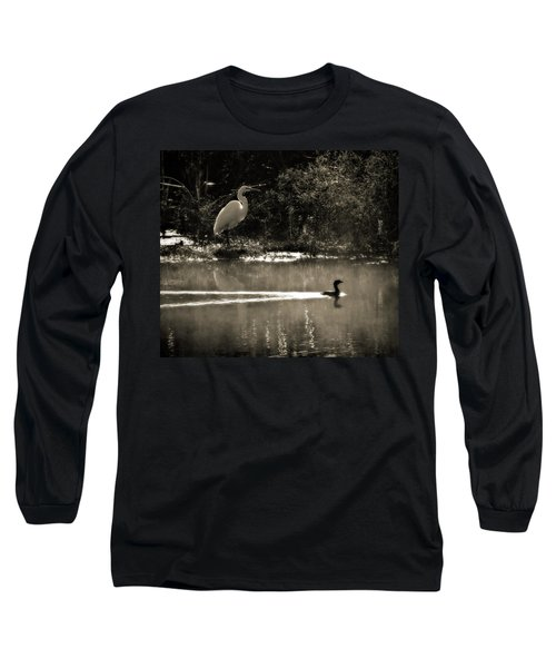 When The Morning Fog Lifted Long Sleeve T-Shirt