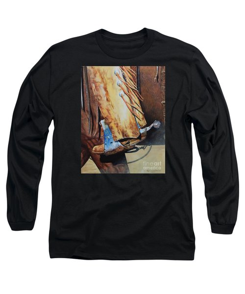When Work Is Play Long Sleeve T-Shirt by Ruanna Sion Shadd a'Dann'l Yoder