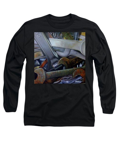 Where Have All The Mechanics Gone Long Sleeve T-Shirt