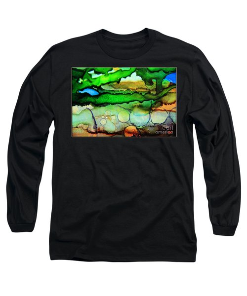 Where The Rivers Flow.. Long Sleeve T-Shirt