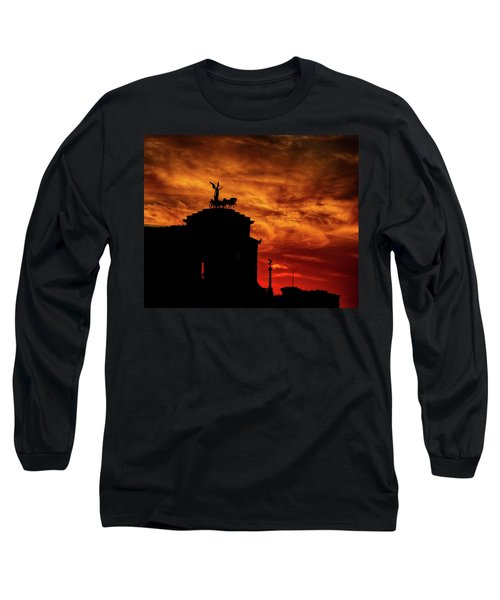 While Rome Burns Long Sleeve T-Shirt