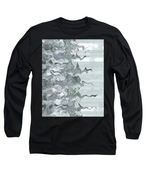 Long Sleeve T-Shirt featuring the digital art Whispers In The Fog by Wendy J St Christopher