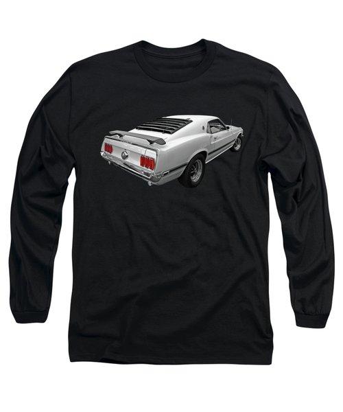 White '69 Mach 1 Long Sleeve T-Shirt