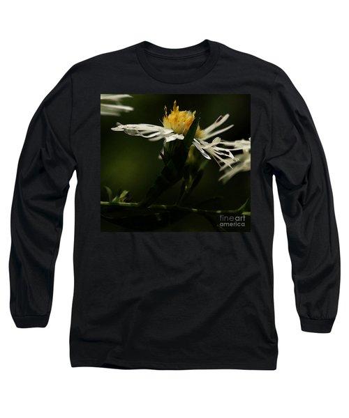 White Aster Long Sleeve T-Shirt