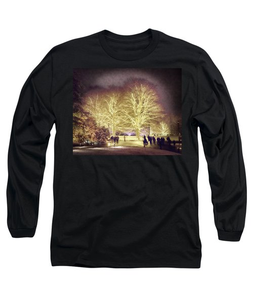 White Light Christmas Long Sleeve T-Shirt by Phil Abrams