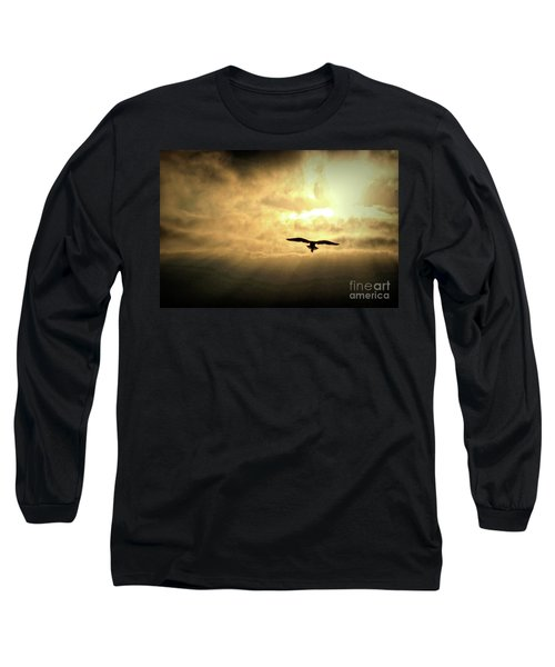 White Light Sunrise Long Sleeve T-Shirt