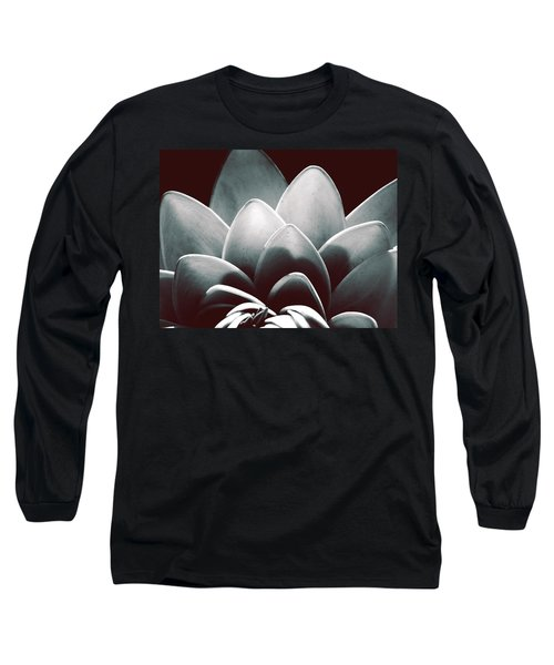White Lotus At Dawn Long Sleeve T-Shirt