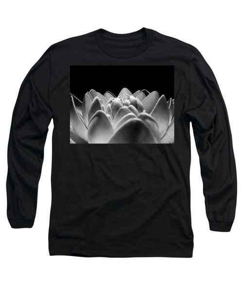 White Lotus In Night Long Sleeve T-Shirt