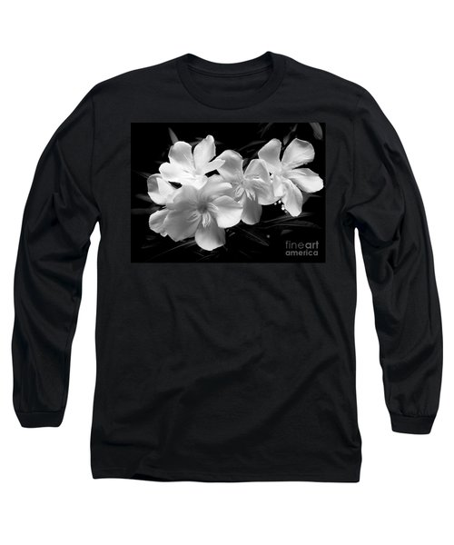 White Oleander Long Sleeve T-Shirt
