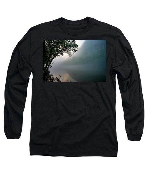 White River Morning Long Sleeve T-Shirt