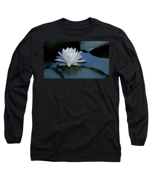 White Water Lily Long Sleeve T-Shirt