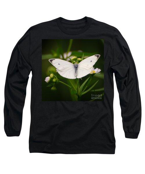 White Wings Of Wonder Long Sleeve T-Shirt