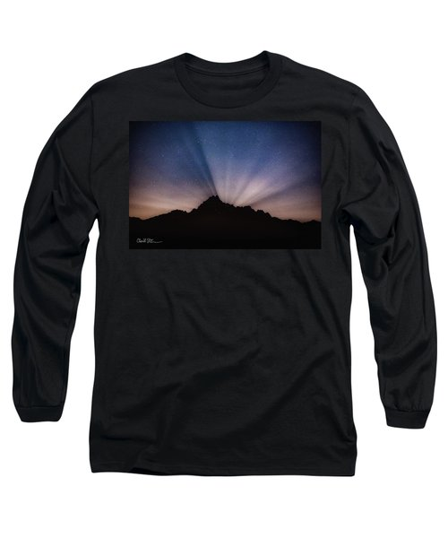 Whitehorse Mountain Moon Rays Long Sleeve T-Shirt