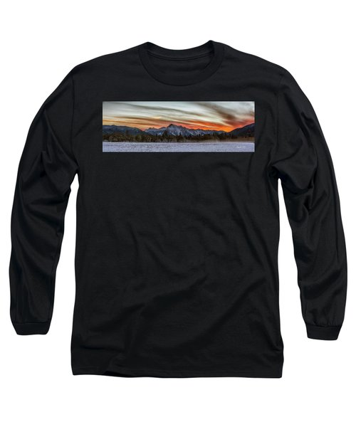 Whitehorse Sunset Panorama Long Sleeve T-Shirt