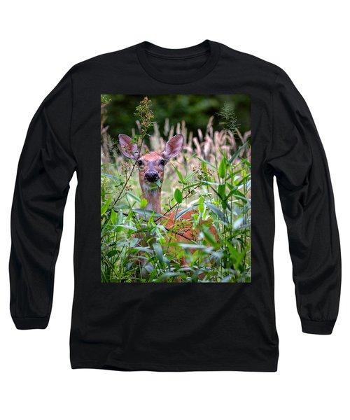 Whitetail Doe Long Sleeve T-Shirt