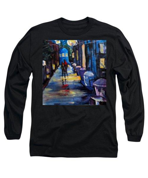 Who's Heading Back Long Sleeve T-Shirt by Barbara O'Toole