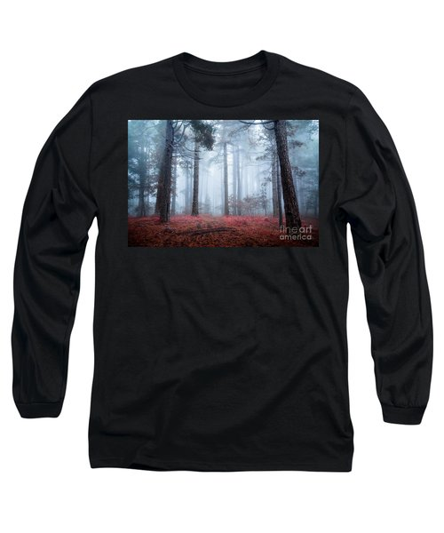 Why Is Sting Glowing Blue? Long Sleeve T-Shirt by Giuseppe Torre