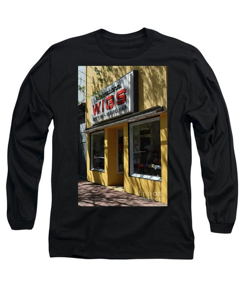 Long Sleeve T-Shirt featuring the photograph Wigs by Skip Willits