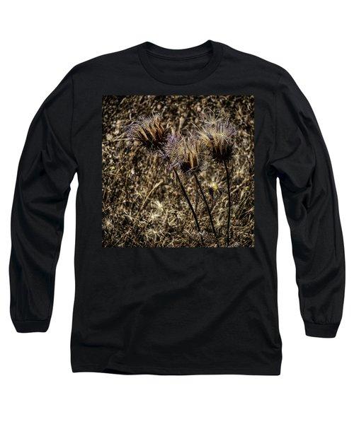 Long Sleeve T-Shirt featuring the photograph Wild Artichoke by Edgar Laureano