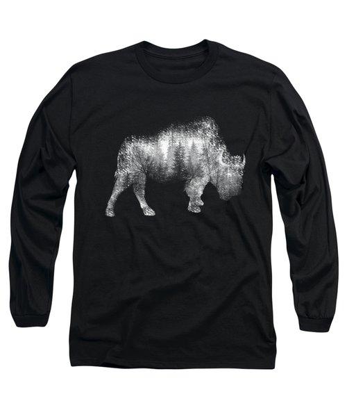 Wild Bison Long Sleeve T-Shirt