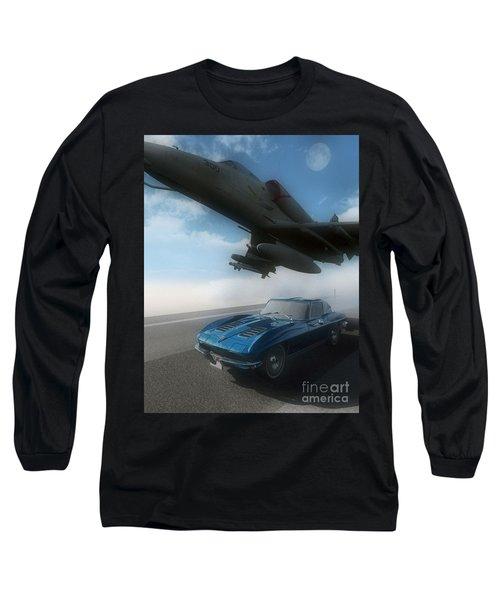 Wild Blue Long Sleeve T-Shirt