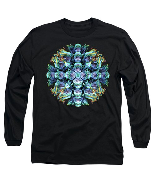 Wild Flower Long Sleeve T-Shirt by Lyle Hatch