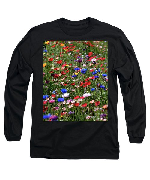Wild Flower Meadow 2 Long Sleeve T-Shirt