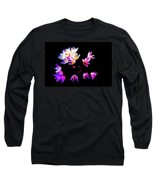 Wild Garlic Long Sleeve T-Shirt by Richard Patmore