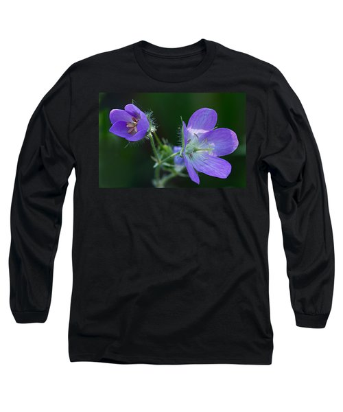 Wild Geraniums Long Sleeve T-Shirt