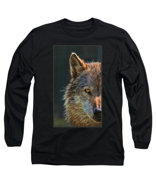 Wild Night Long Sleeve T-Shirt by Gill Billington