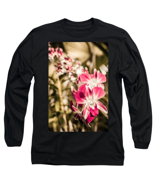 Wild Orchids Long Sleeve T-Shirt