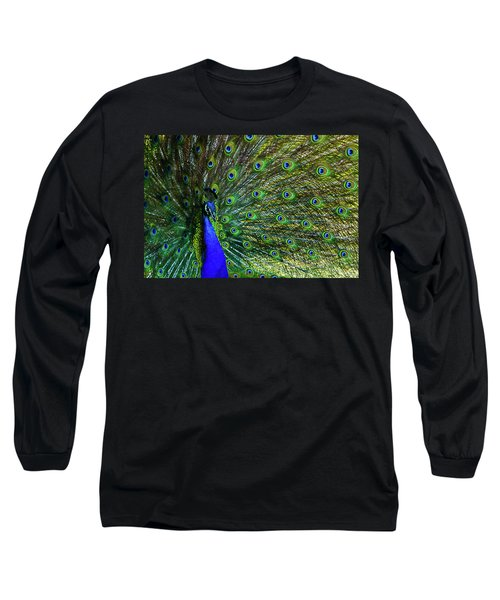 Wild Peacock Long Sleeve T-Shirt