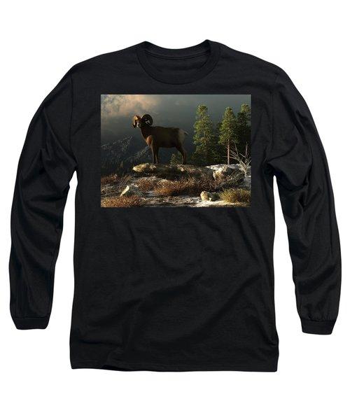 Wild Ram Long Sleeve T-Shirt