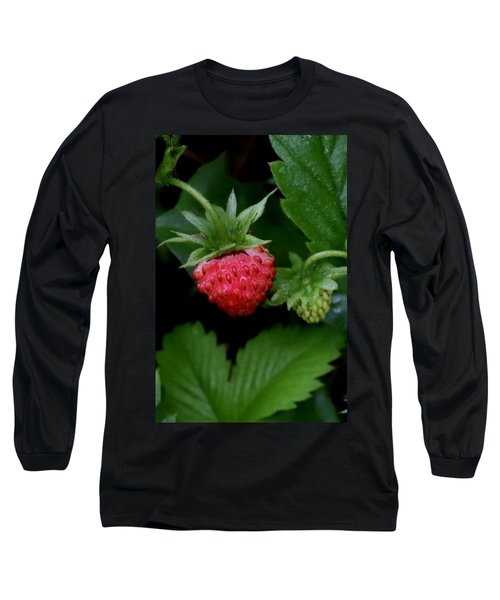 Wild Strawberry Long Sleeve T-Shirt