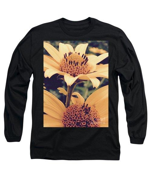 Wild Sunflowers Long Sleeve T-Shirt