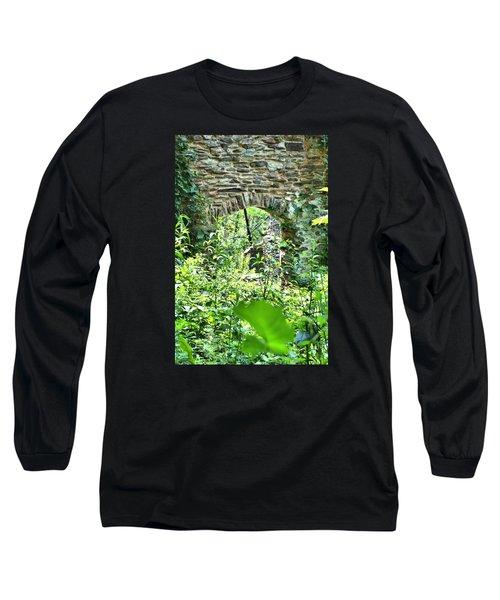 Wilderness Portal Long Sleeve T-Shirt by James Potts