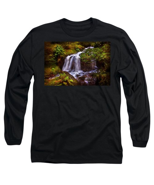 Wilderness. Rest And Be Thankful. Scotland Long Sleeve T-Shirt