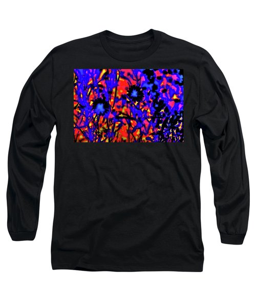 Wildflower Medley Long Sleeve T-Shirt by Gina O'Brien