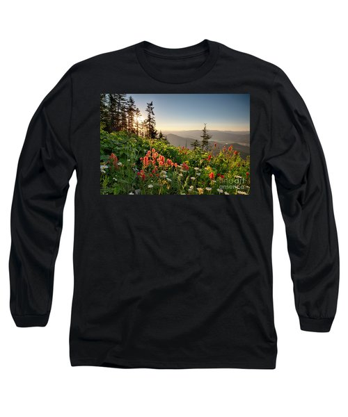 Wildflower View Long Sleeve T-Shirt