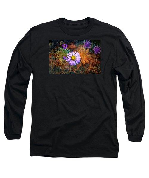 Wildflowers Long Sleeve T-Shirt by Ed Hall